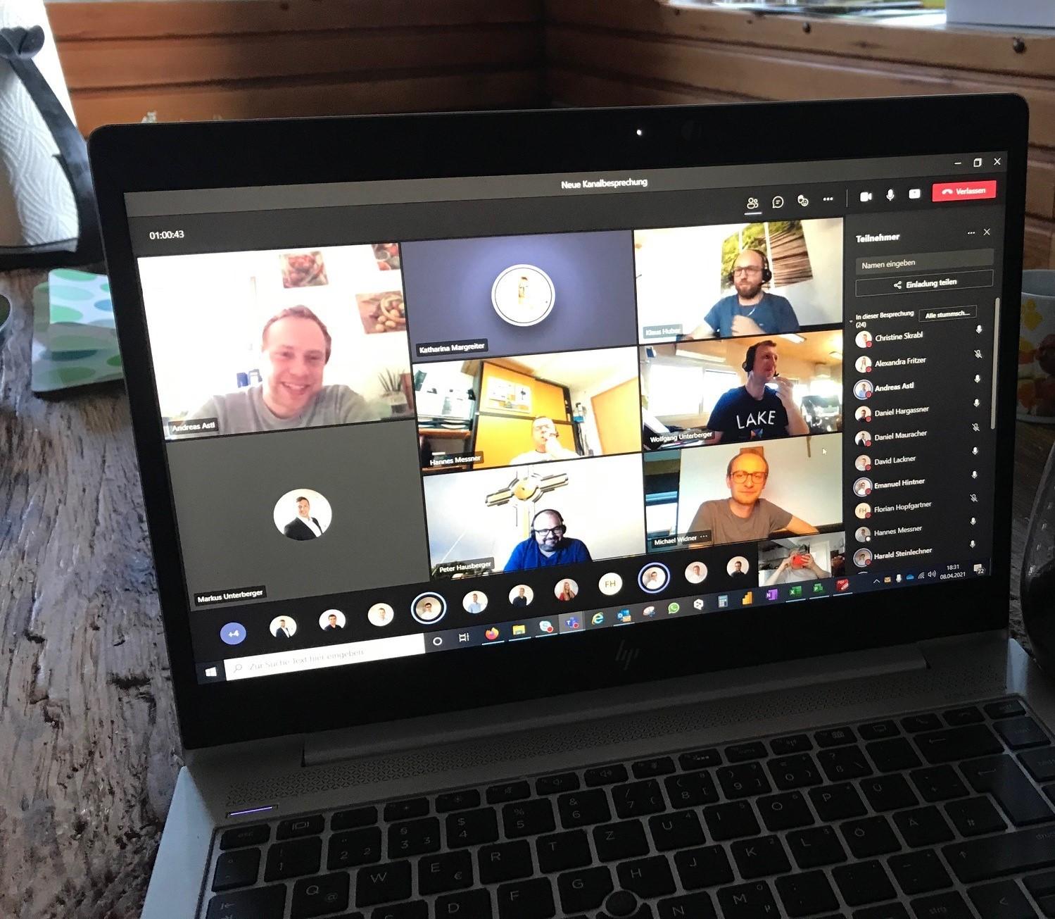 Virtueller Kennenlern- und Austauschabend